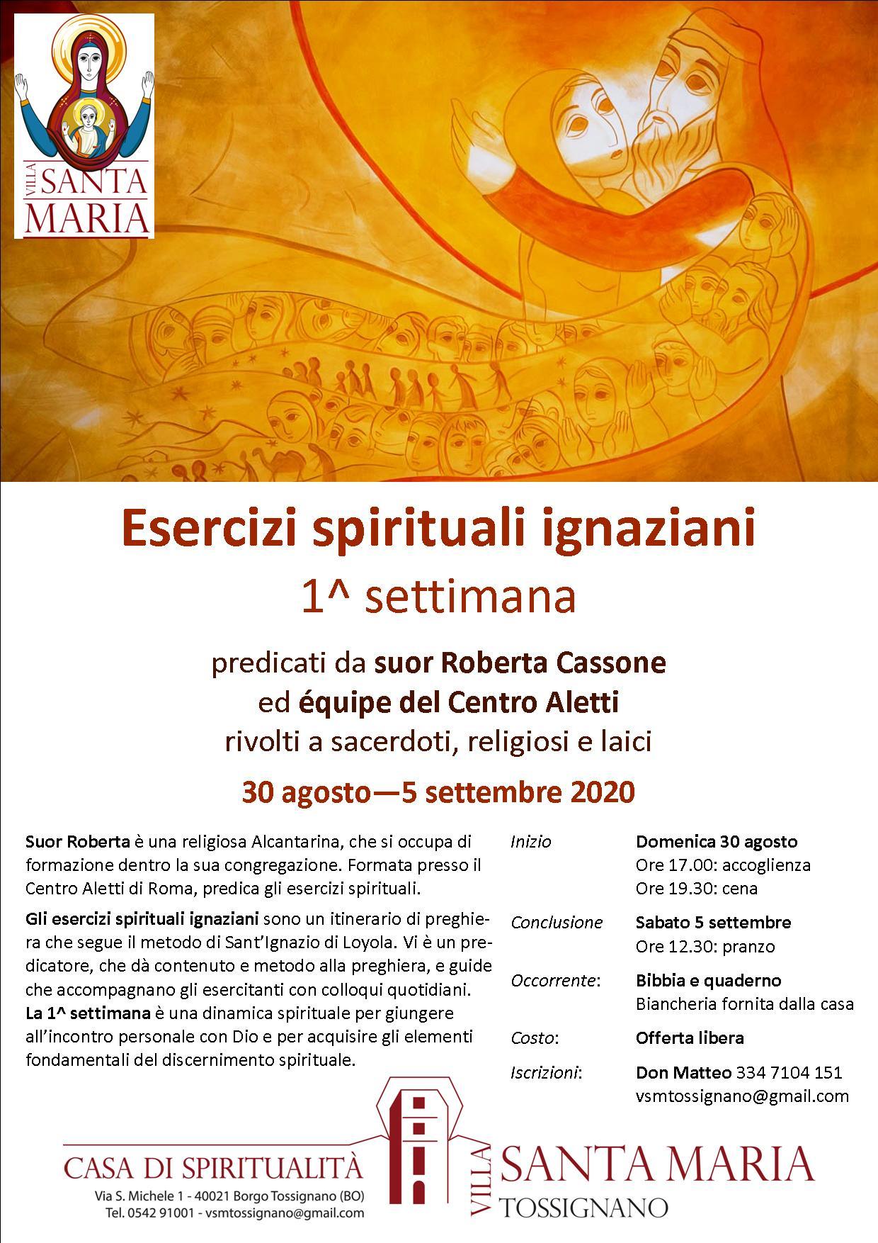 Esercizi spirituali ignaziani